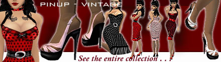 Pinup Dresses & Accessories