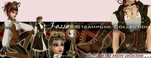 Jesse Steampunk Collection