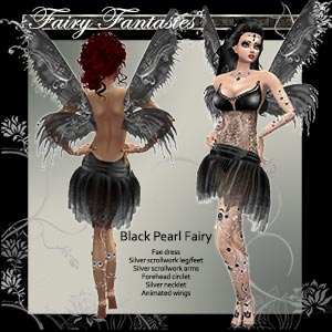 Black Pearl Fae Dress