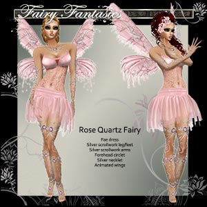 Rose Quartz Fae Dress