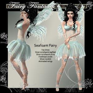Seafoam Fae Dress